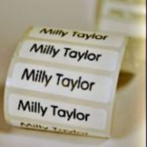 NAME TAPES/SCHOOL LABELS X 75 labels