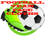 FOOTBALL TEAM FACE CLOTHS