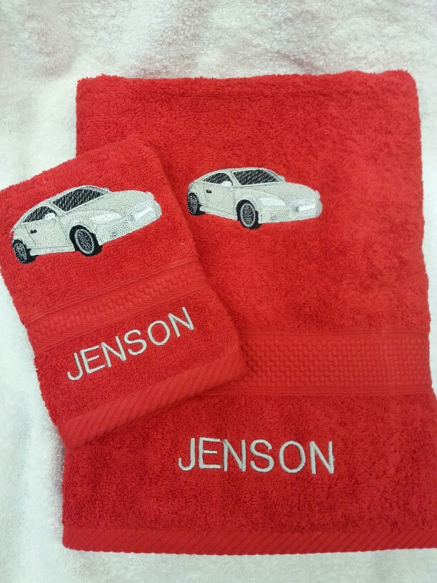 Audi TT Car Towel set