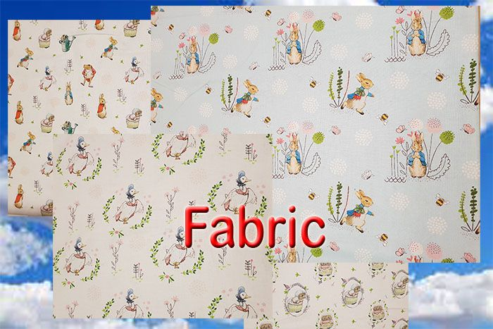 Peter Rabbit Fabric -  New Collection to the UK